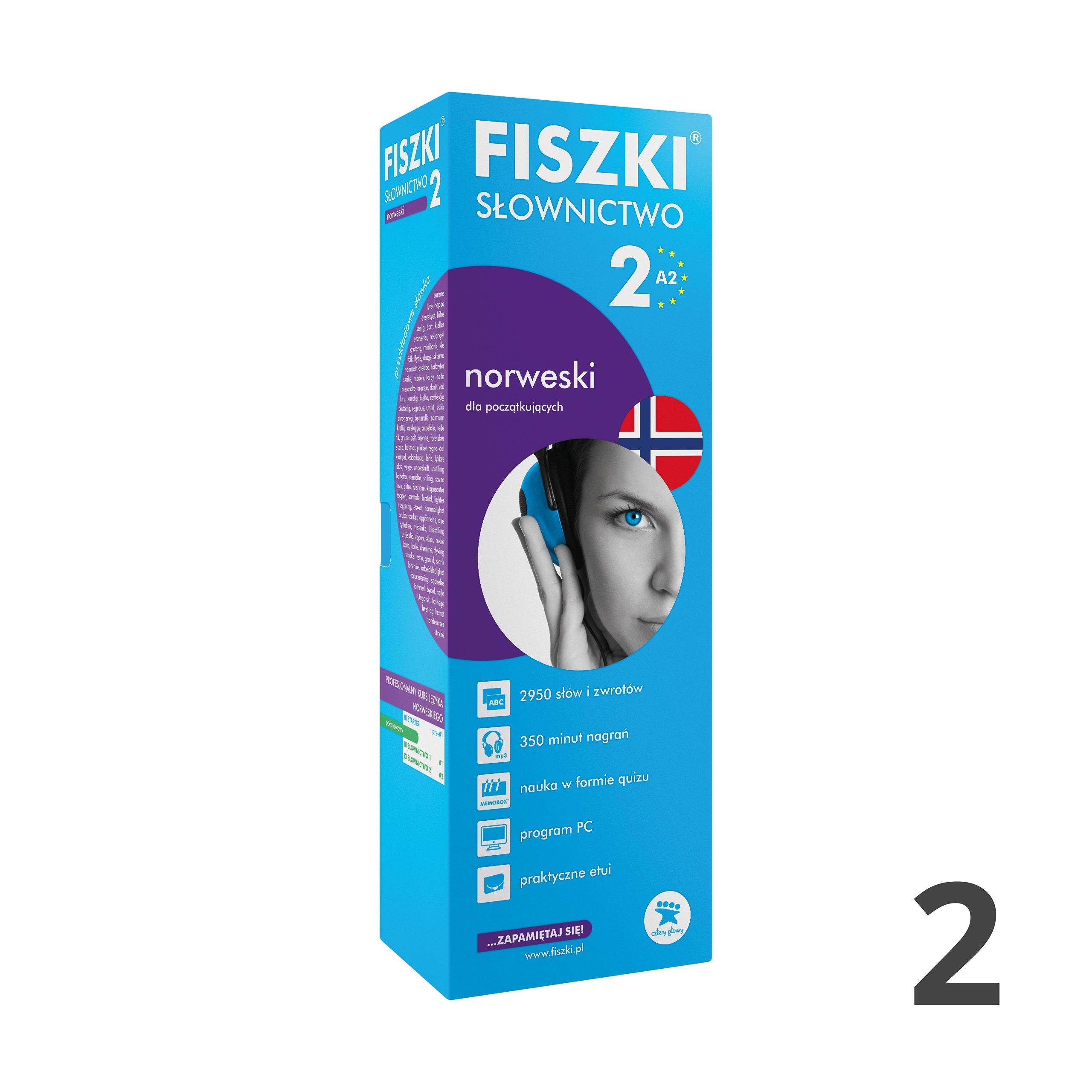 FISZKI - norweski - Słownictwo 2 (A2)