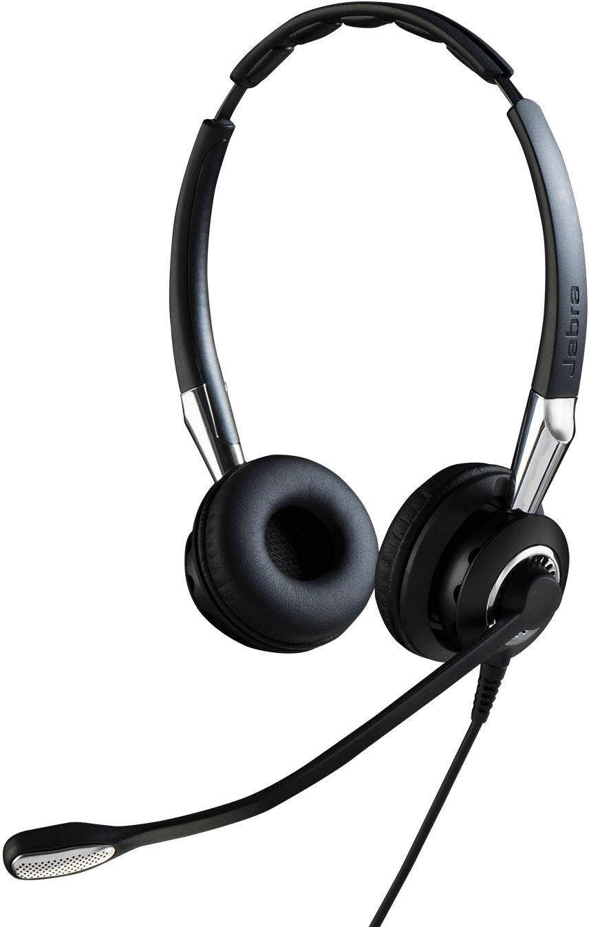 Jabra Biz 2400 II USB Duo CC MS Zestaw słuchawkowy Opaska na głowę