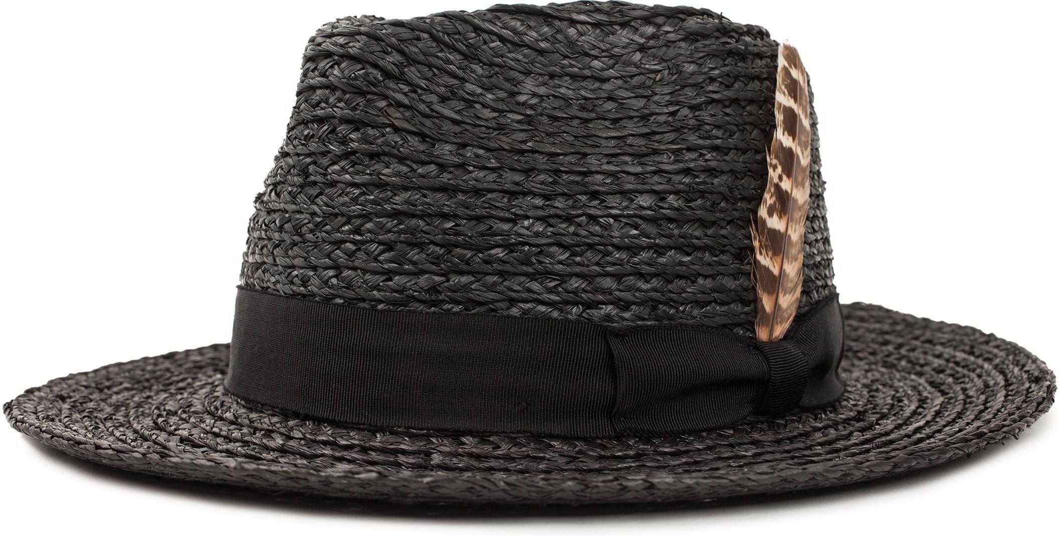 kapelusz BRIXTON CROSBY FEDORA Black