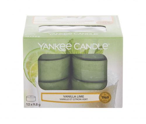 Yankee Candle Vanilla Lime świeczka zapachowa 117,6 g unisex