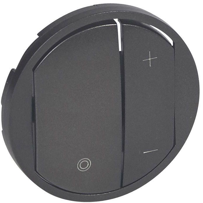 CELIANE Klawisz ściemniacza przyciskowego grafit 065283