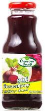 Sok z buraka z sokiem z cytryny BIO 250ml Owocowe smaki