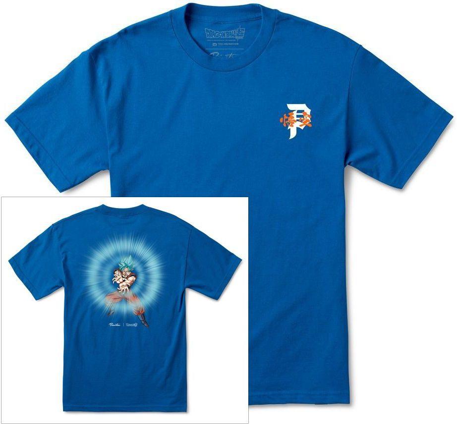 t-shirt męski PRIMITIVE (DRAGON BALL SUPER) ENERGY TEE Royal