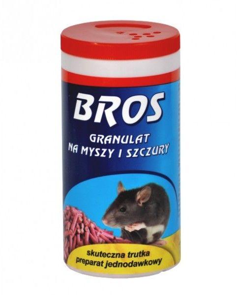 Bros Granulat na myszy i szczury 250g.