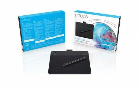 Tablet graficzny Wacom Intuos Art S (A6) CTH-490AK czarny + oprogr. + kurs obsługi PL