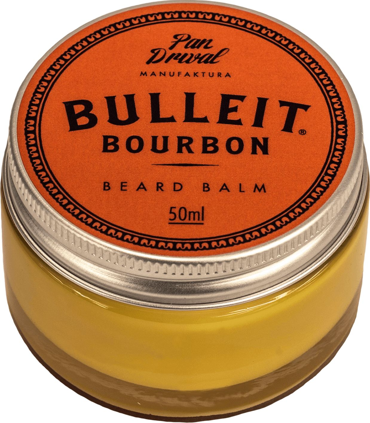 Pan Drwal Bulleit balsam do brody oparty na naturalnych woskach 50ml