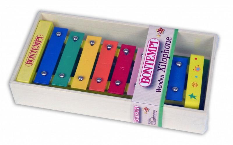 Instrument Drewniany ksylofon