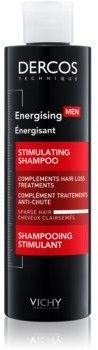 Vichy Dercos Energising szampon wzmacniający przeciwko wypadaniu włosów dla mężczyzn 200 ml