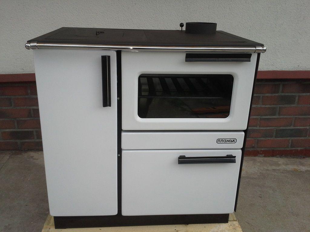 Kuchnia węglowa z funkcją c.o. PLAMAK B-12 15 KW.