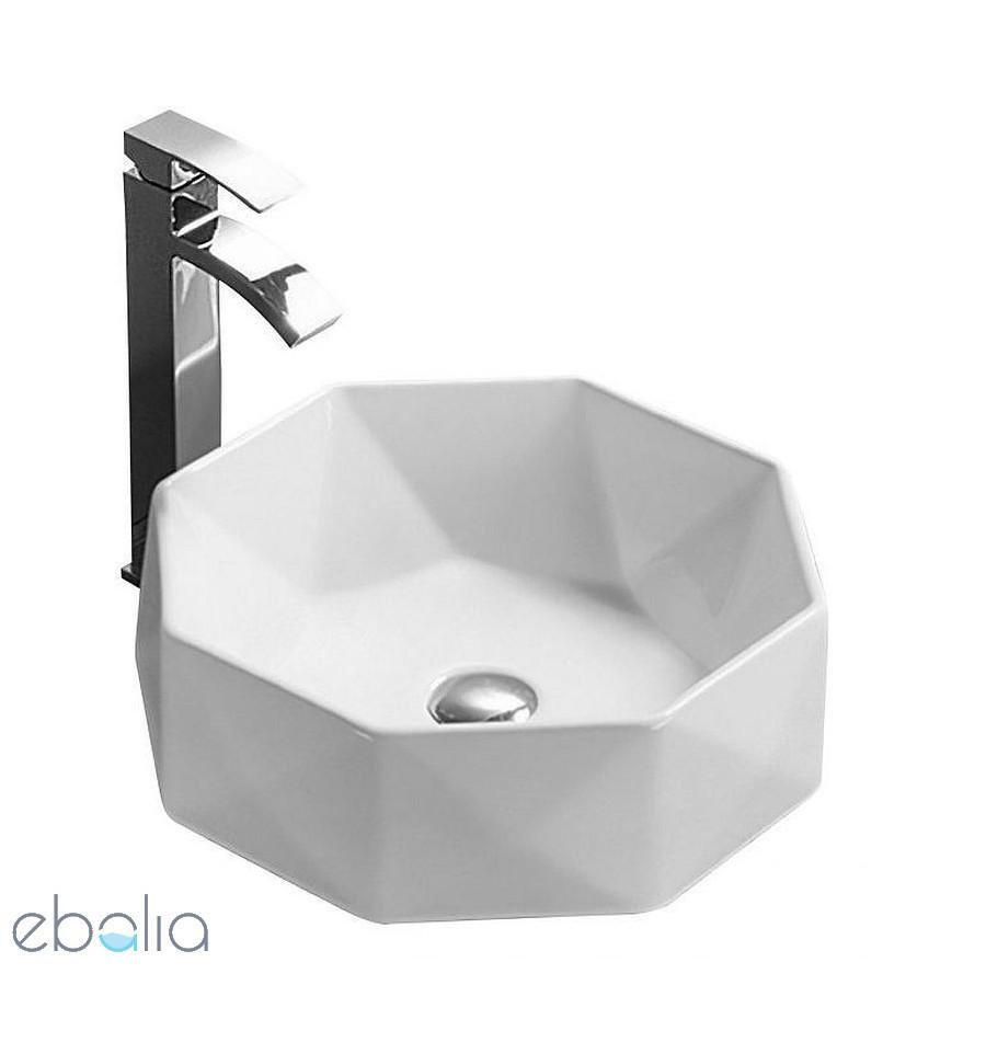 Umywalka ceramiczna 40 Cristal Rea (REA-U004X)