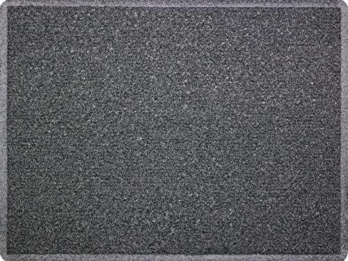 ID Mat ITINERAIR dywan, winyl, szary, 60 x 80 x 1,2 cm