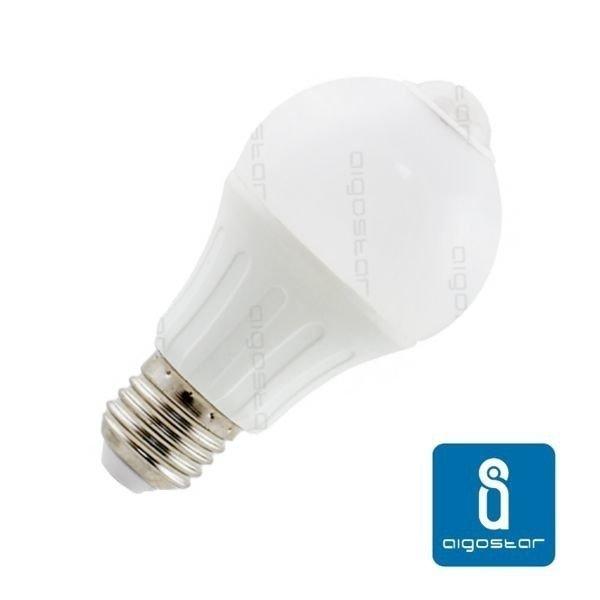 Żarówka LED E27 12W ciepła 3000K z czujnikiem ruchu
