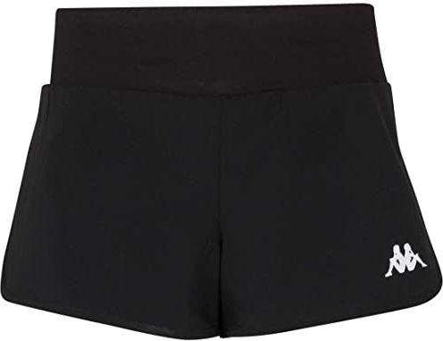 Kappa Falza damskie spodnie do tenisa, czarne, 12Y