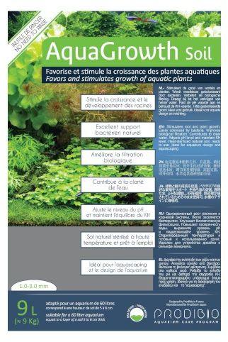 Prodibio AquaGrowth Soil - podłoże do akwarium