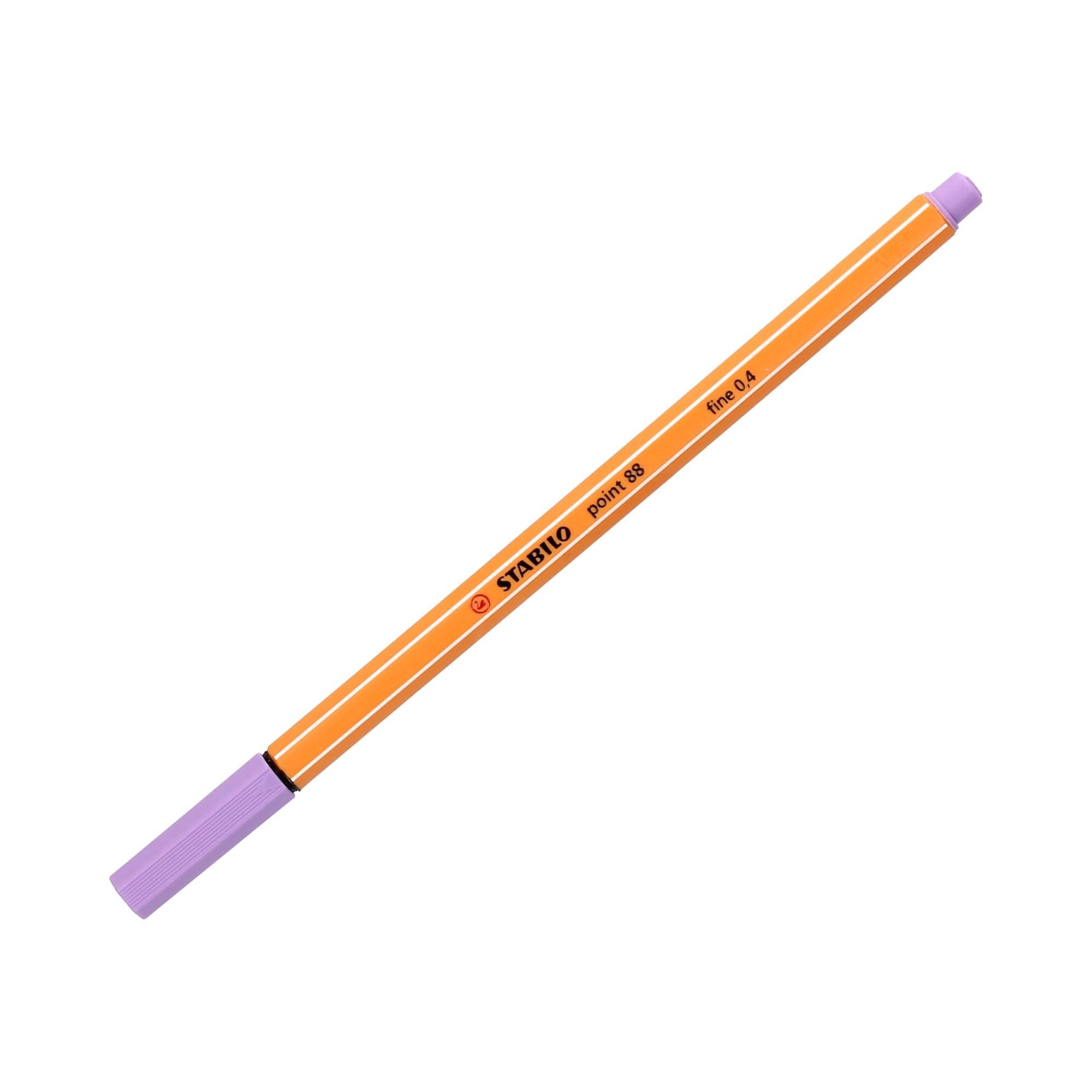 Cienkopis 0.4mm jasnoliliowy Point 88/59