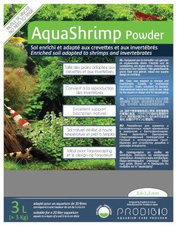 Prodibio AquaShrimp Powder - podłoże do akwarium