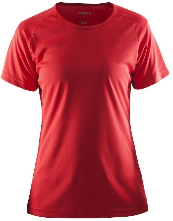CRAFT Event Tee Damska koszulka sportowa czerwona 1908609-430000 Rozmiar: S,1908609-430000