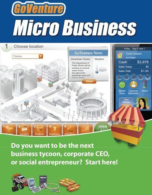 GoVenture MICRO BUSINESS (PC/MAC) DIGITAL
