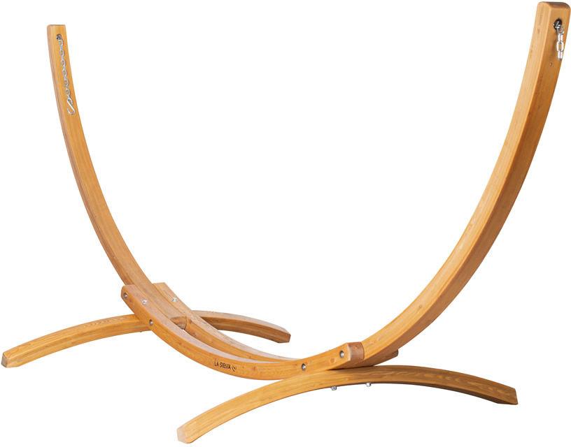 Stojak do hamaków dwusobowych Elipso, drewniany ELS35-1