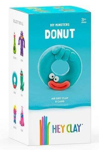 Hey Clay masa plastyczna Donut HCLMM006 - TM TOYS