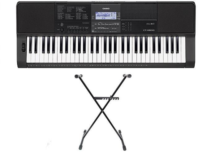 Casio CT-X800 - keyboard + statyw - Raty 30x0%!