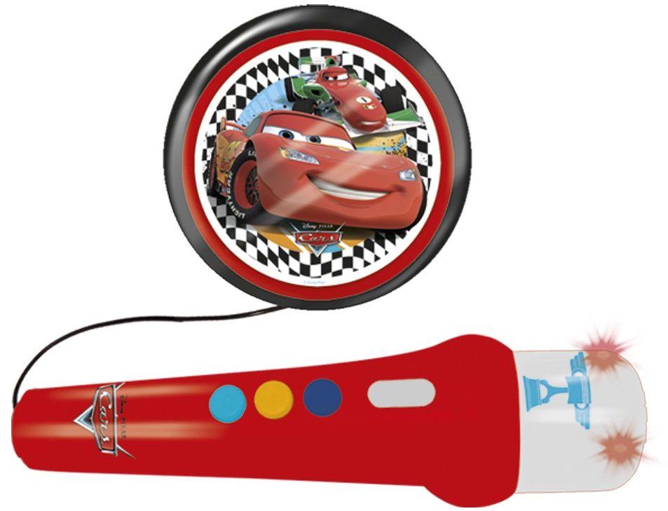 Reig 5314 - Disney Cars mikrofon ręczny z aktywnym głośnikiem