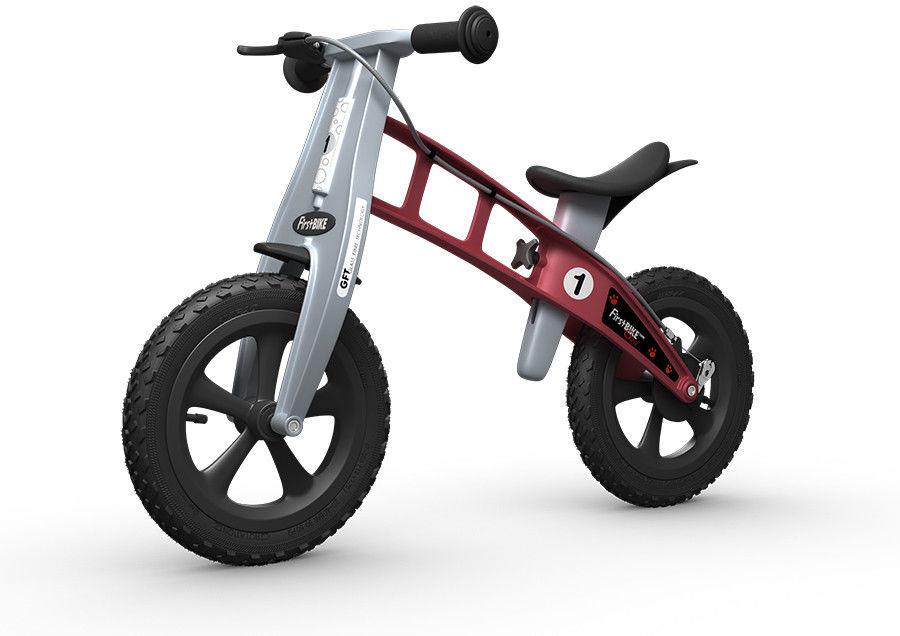Rowerek biegowy FIRST BIKE CROSS /czerwony/