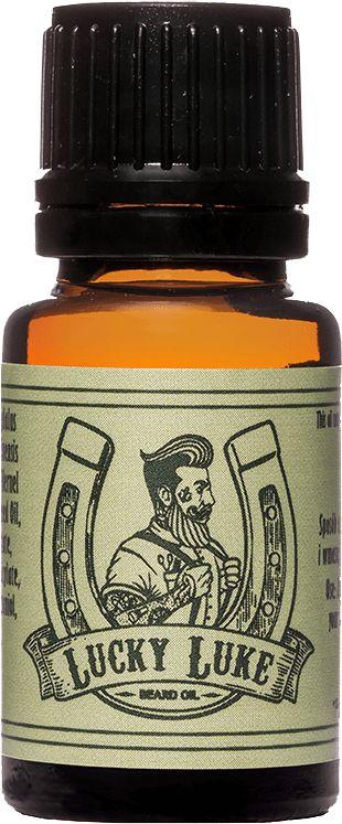 Pan Drwal Lucky Luke olejek do pielęgnacji brody 10ml