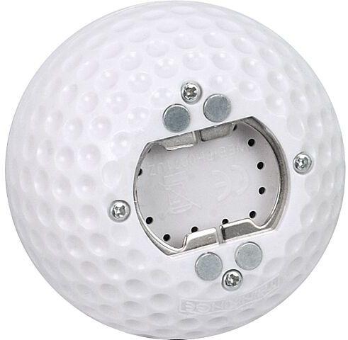 Dźwiękowy otwieracz w kształcie piłki golfowej