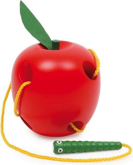 Jabłko i gąsienica