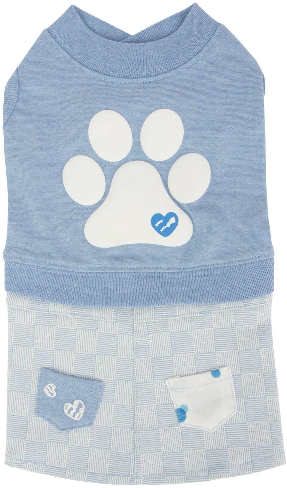 Pinkaholic New York NARA-OP7310-MB-M Ml.Blue Pawsh sukienki dla zwierząt domowych, średnio