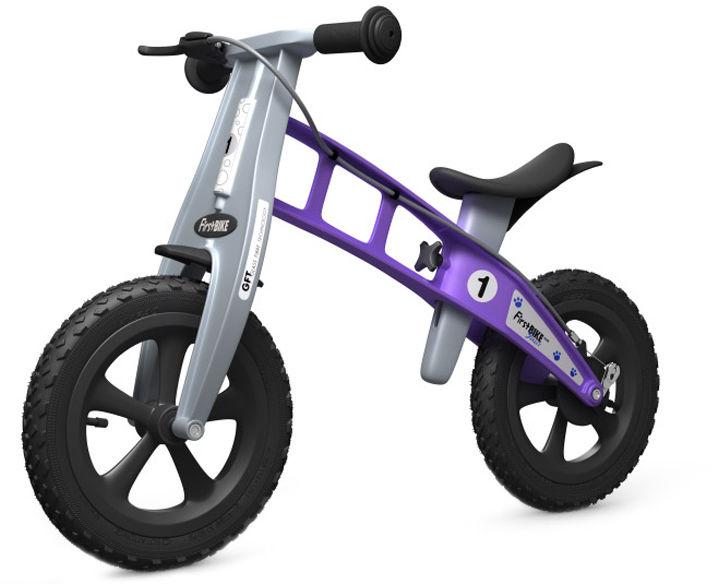 Rowerek biegowy FIRST BIKE CROSS /fioletowy/