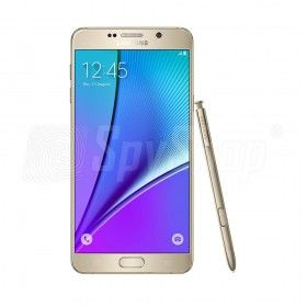 Phablet Samsung Galaxy Note 5 - kopie wiadomości SMS, MMS i e-mail, Kolor - Złoty