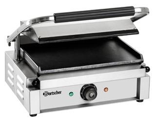 Bartscher Grill kontaktowy żeliwny pojedyńczy gładki 335x230mm 2200W - kod A150679