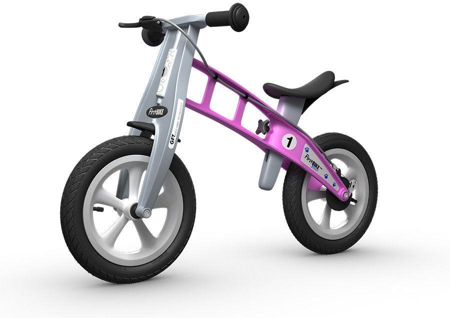 Rowerek biegowy FIRST BIKE STREET /różowy/