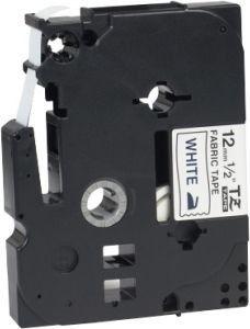 Brother TZe-MQG35 taśma, nadruk biały na limonkowym tle, 12 mm, oryginalna