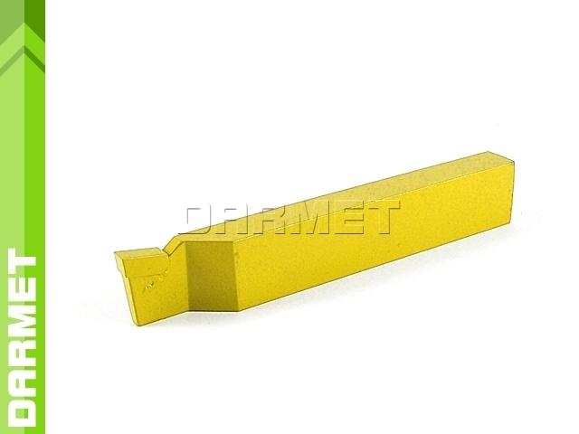 Nóż tokarski przecinak lewy NNPc ISO7, wielkość 1610 U20 (M20), do stali nierdzewnej