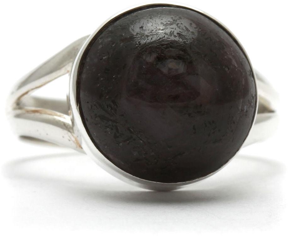 Kuźnia Srebra - Pierścionek srebrny, rozm. 16, Eudialit, 6g, model