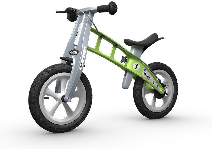 Rowerek biegowy FIRST BIKE STREET /zielony/