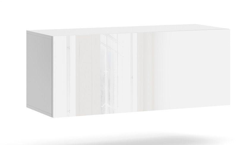 Szafka wisząca RTV NEXA 100 biały-biały połysk