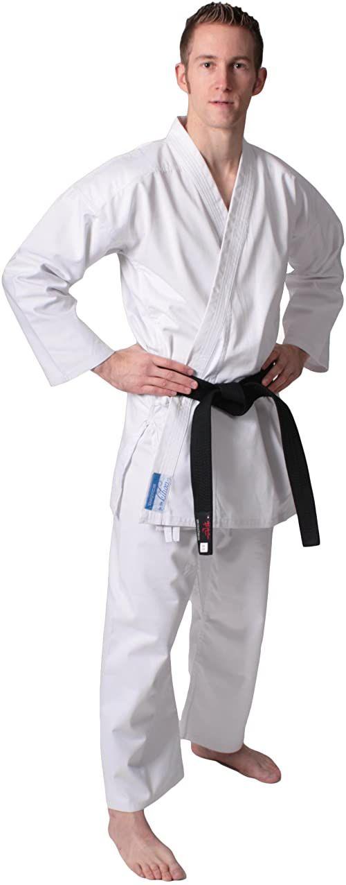 DEPICE - garnitur karate - biały biały biały rozmiar: 140 cm