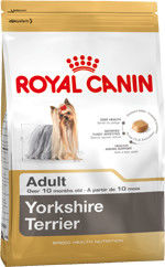 ROYAL CANIN Yorkshire Terrier Adult 7,5kg + Yorkshire Terrier Adult 24x85g