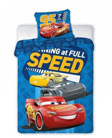 Pościel Dziecięca 100x135+40x60 Disney Cars McQueen