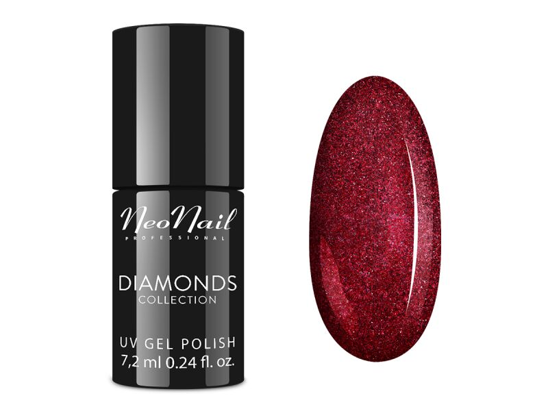 NeoNail - UV GEL POLISH COLOR - DIAMONDS COLLECTION - Lakier hybrydowy - 7,2ml - 6520-7 MISS DIVA