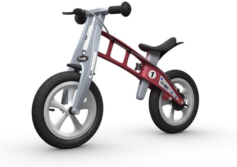 Rowerek biegowy FIRST BIKE STREET /czerwony/
