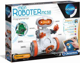 Clementoni 59158 Galileo Science  Mój robot MC 5.0, robotyka dla małych inżynierów, wejście do elektroniki, zabawka high-tech, programowanie dla dzieci od 8 lat