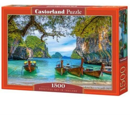 Puzzle 1500 Piękna zatoka w Tajlandii CASTOR