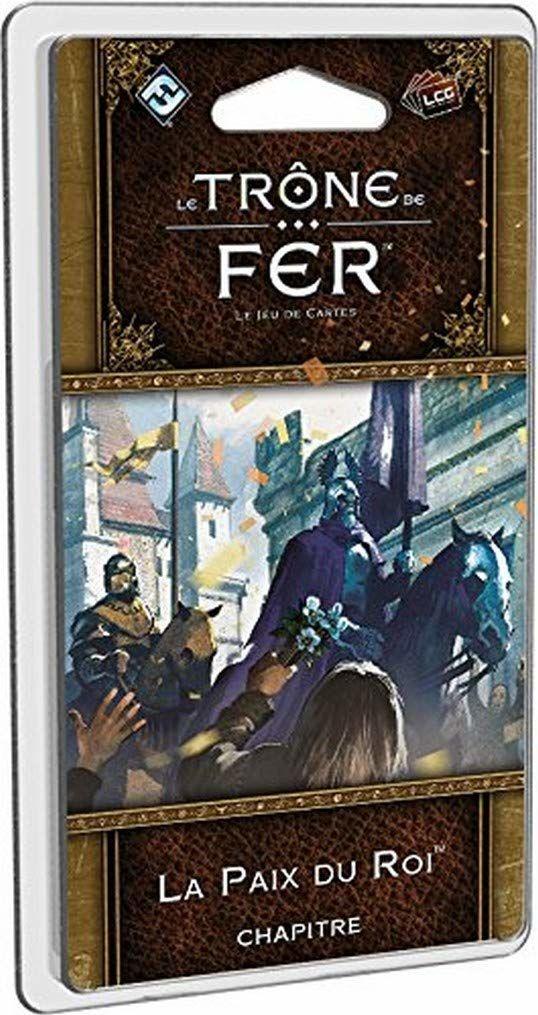 Asmodee  UBIGT04  Game of Thrones Trône De Fer  La Paix Du Roi rozszerzenie do gry w karty (wersja francuska)