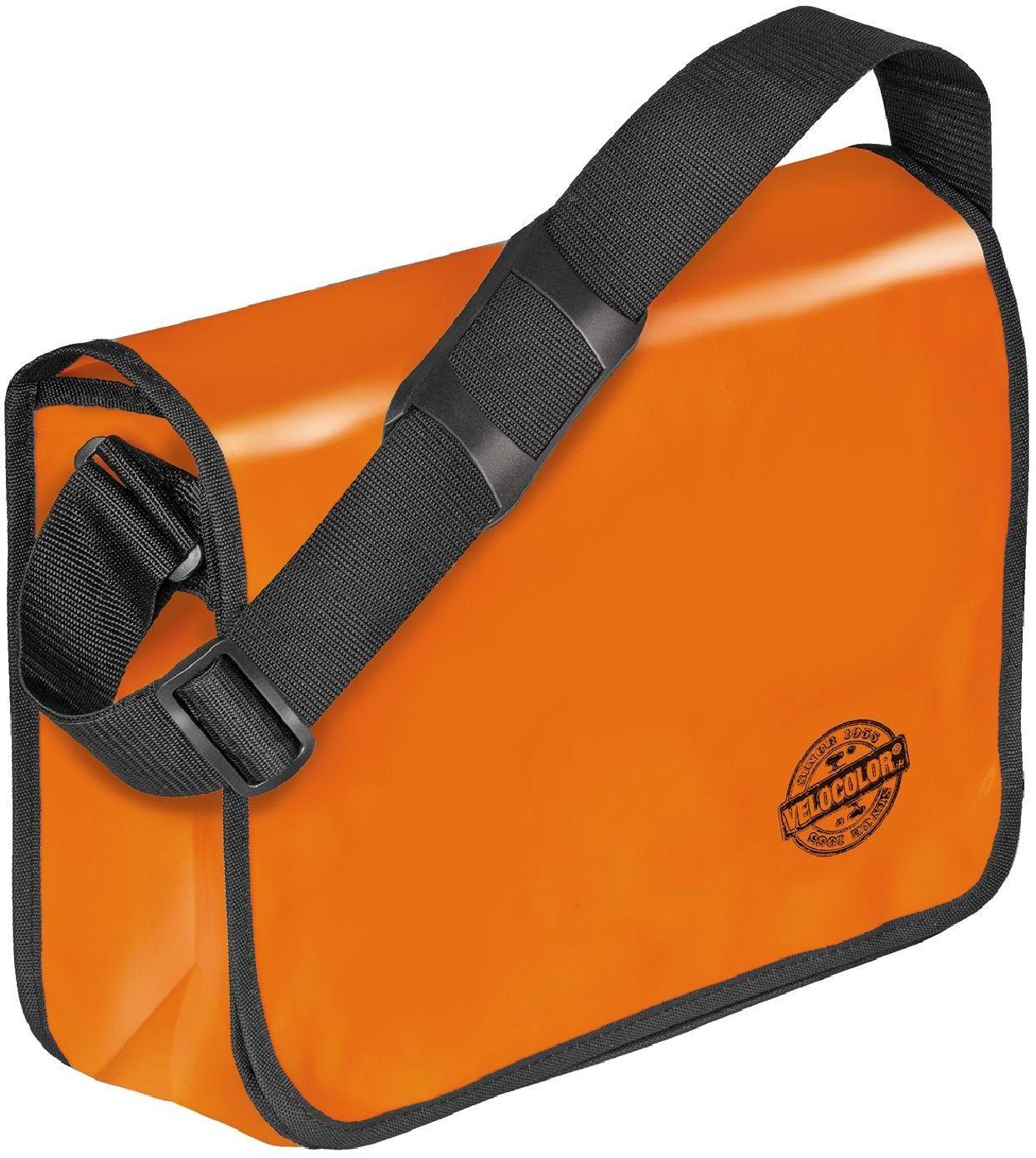 Veloflex Shoulder Bag Velocolor torba na ramię, różne kolory do wyboru, pomarańczowy (pomarańczowa) - 10100934