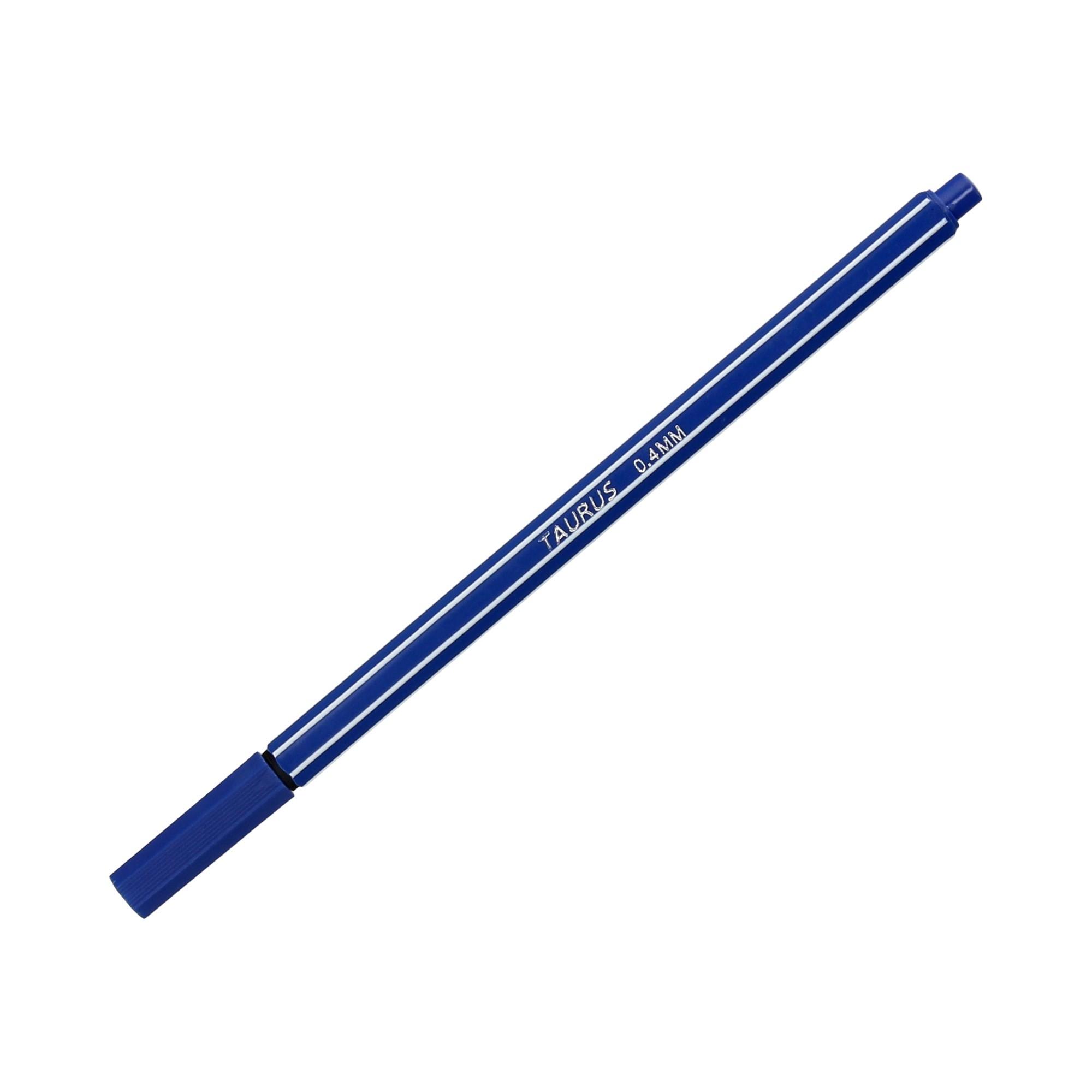 Cienkopis 0.4mm niebieski Taurus